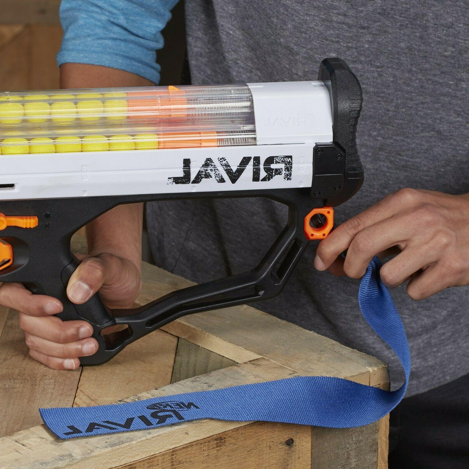 Nerf Rival Phantom Hades XVIII-6000, spring-action mechanism