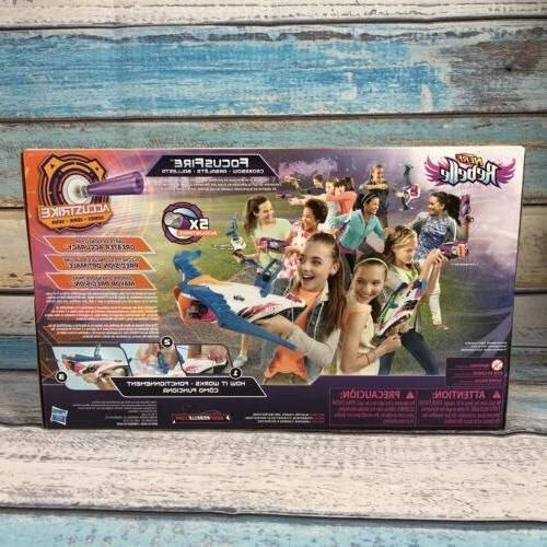 Nerf Rebelle FocusFire Precision Crossbow Darts Hasbro NIB