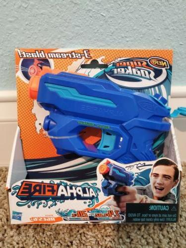 nerf super soaker alphafire blaster water toy