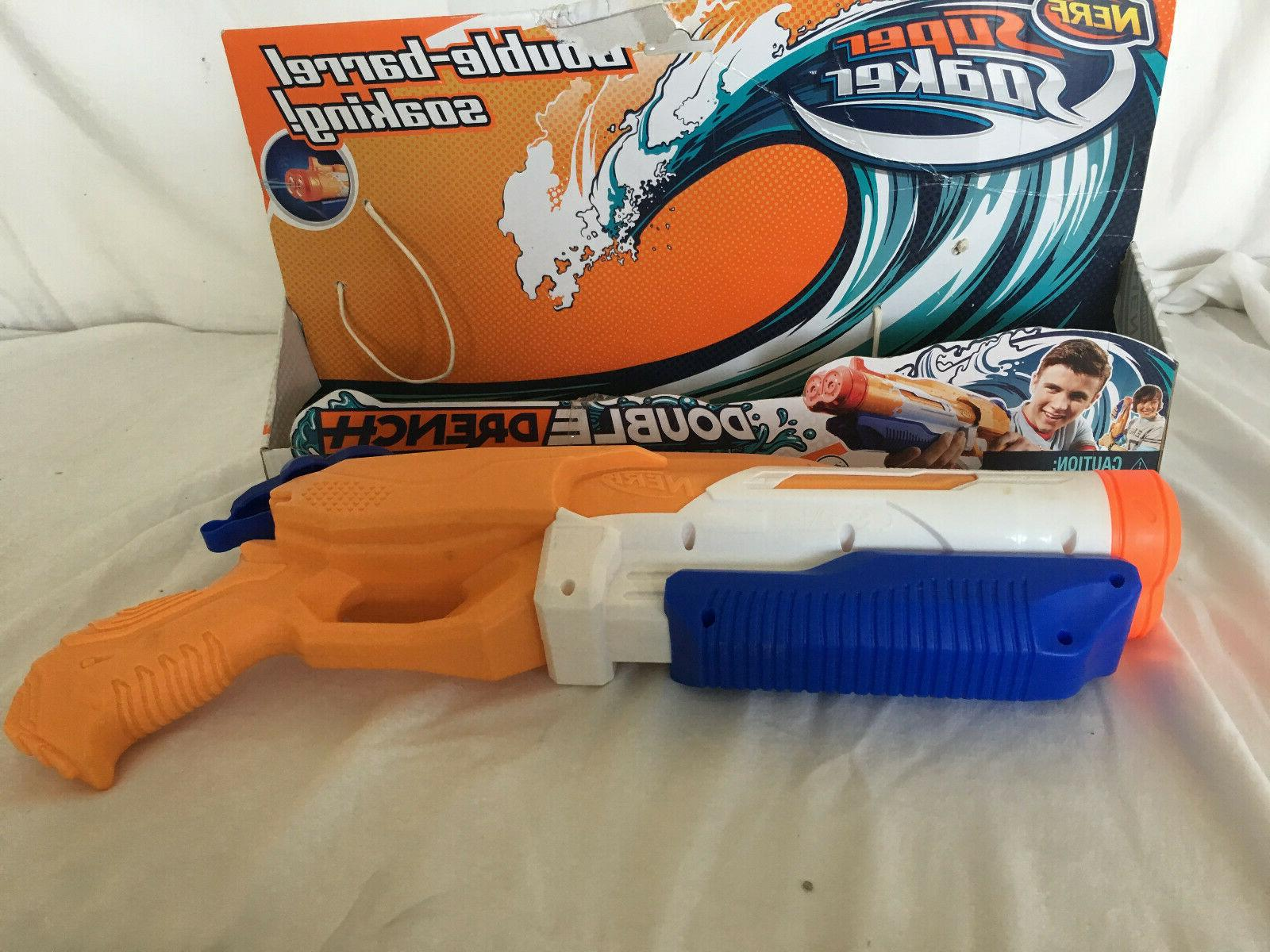 Nerf Drench Double Gun Damaged Package