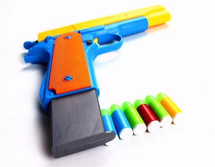Nerf Classic Strike Fun Dart Guns 10x Soft Bullets