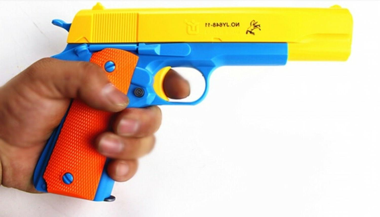 Nerf Toy Gun Pistol Classic m1911 Kids Sniper Strike Dart Gu