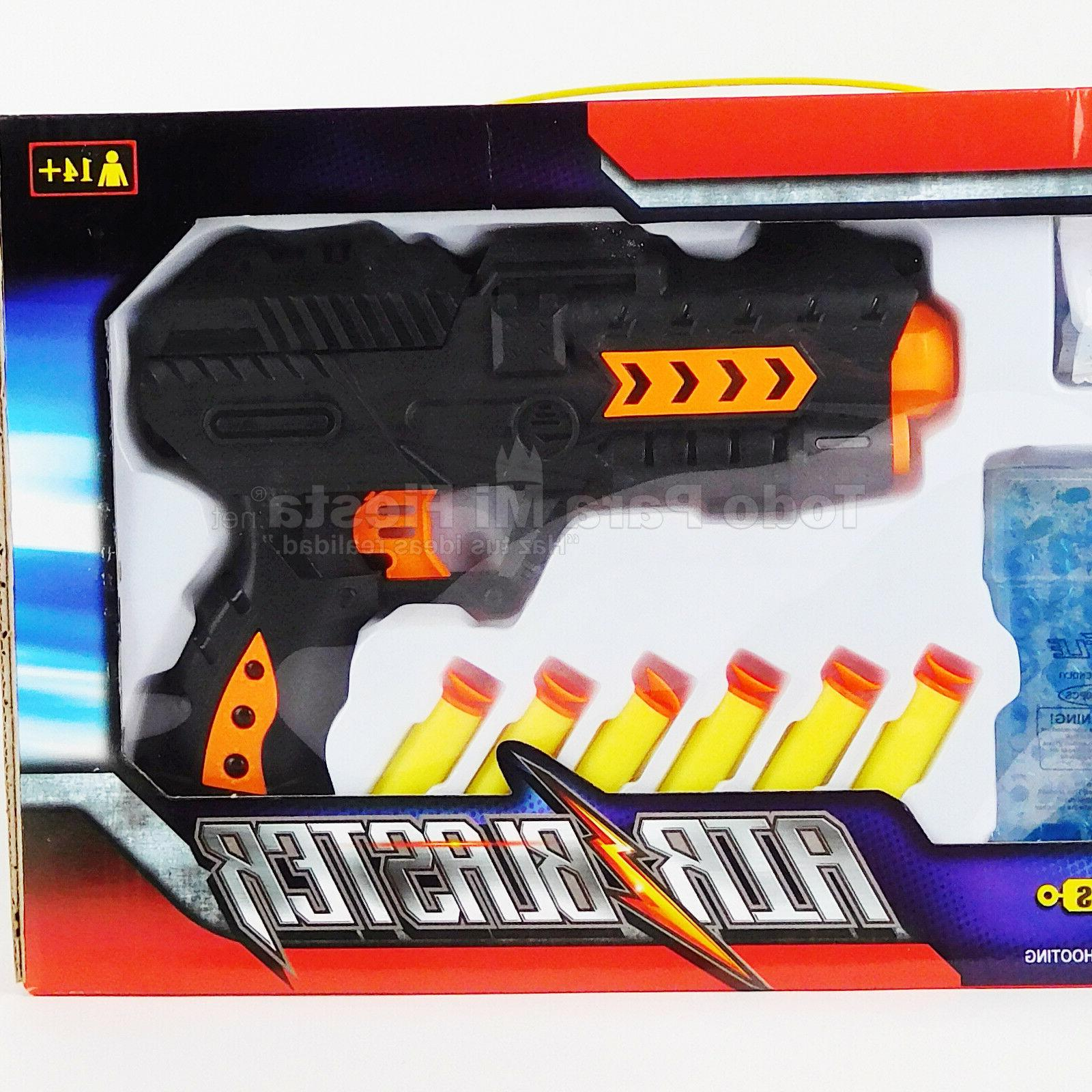 nerf toy gun water bullets backyard blaster