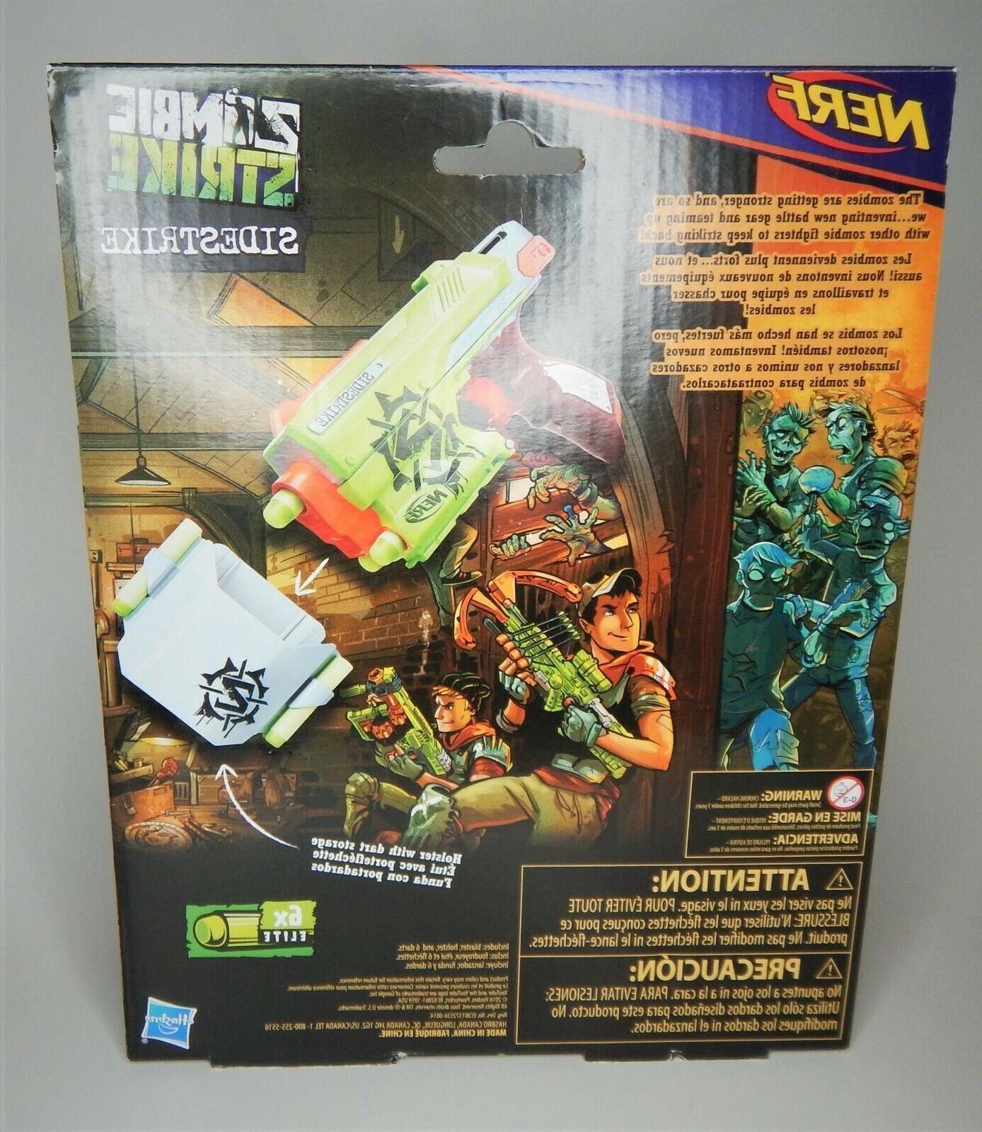 Nerf Zombie Strike SideStrike Blaster and