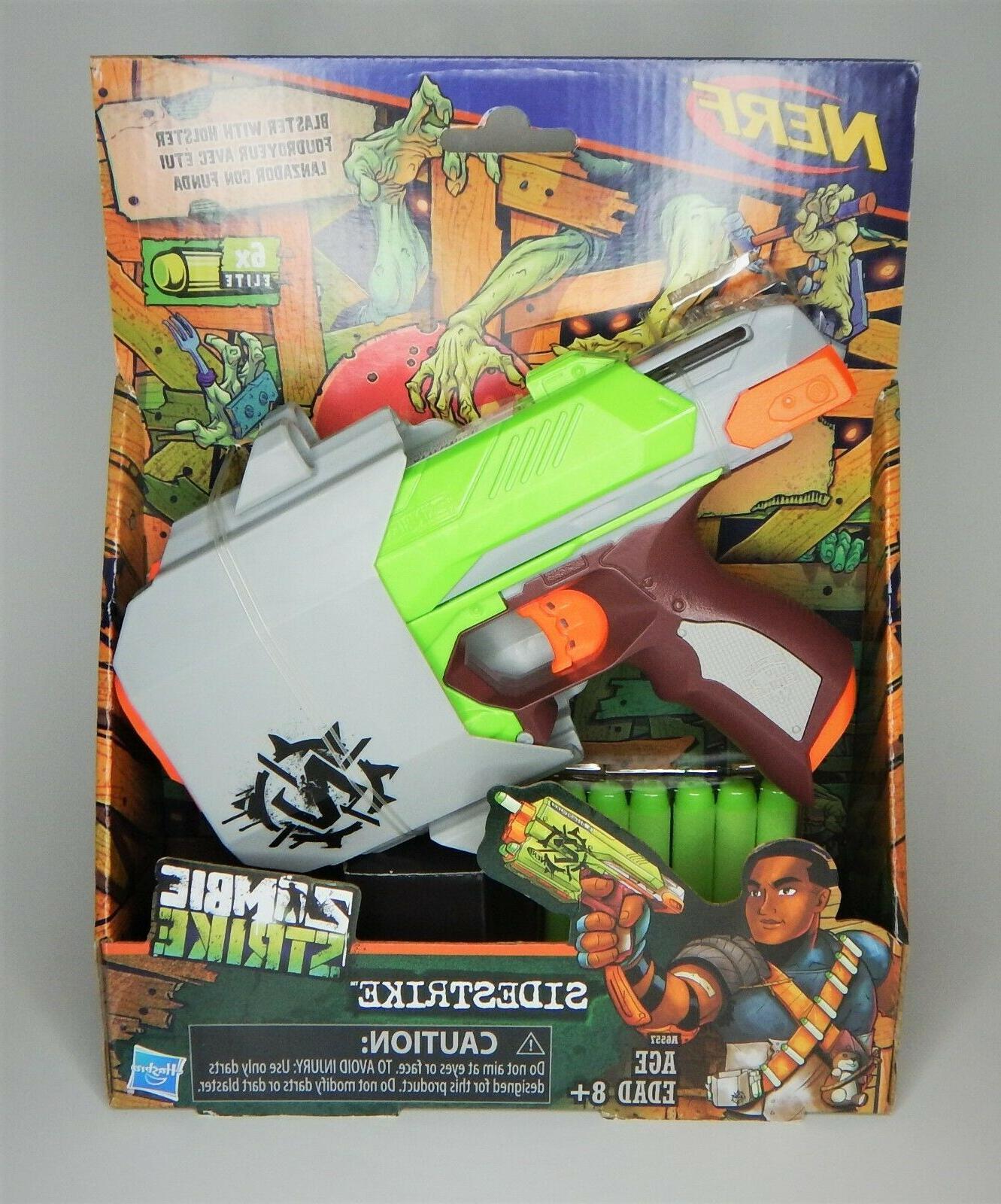 nerf zombie strike sidestrike blaster with holster