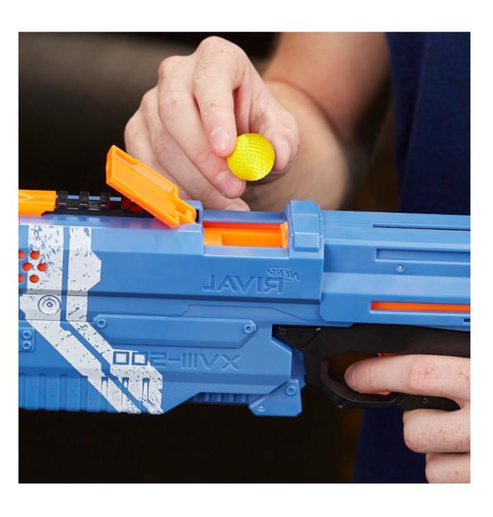 New Nerf for Boys Rival Kronos Toy Gun Cannon Foam Rounds