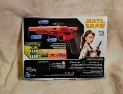 *NEW* Disney's Star Wars Han Qi'ra Glowstrike Female Gun