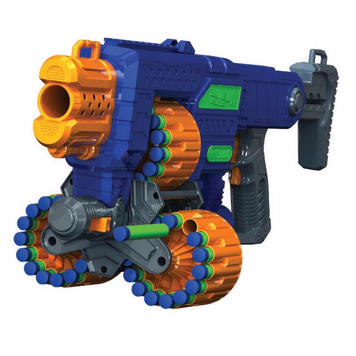 New Foam for Includes 45 Nerf Blaster Toy Guns