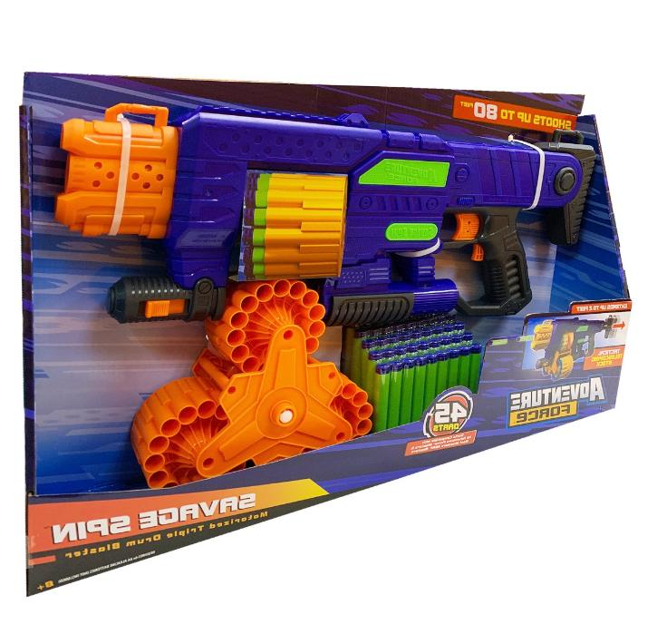 for Includes 45 Nerf Darts Toy Guns