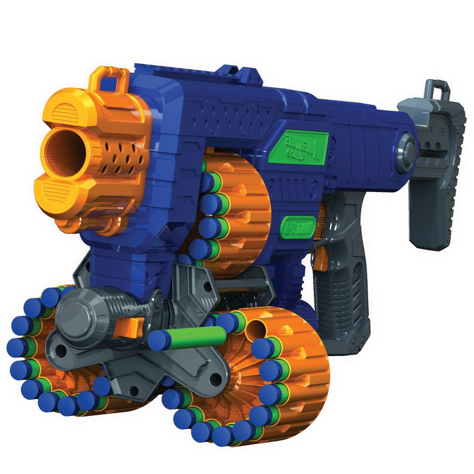 new foam dart nerf compatible machine gun