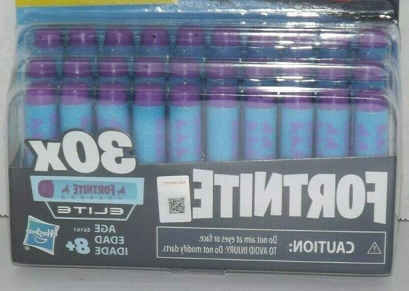 NEW Fortnite Nerf 30x Refill Darts Bullets NIP