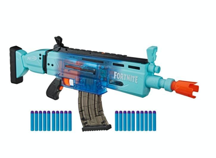 New AR Motorized Blaster Rifle