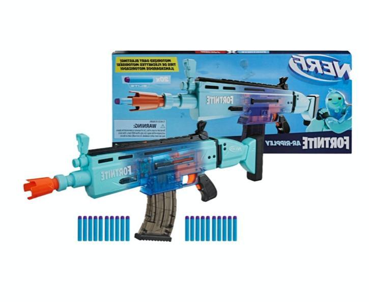 New Nerf AR Rippley Motorized Blaster Boy's Rifle