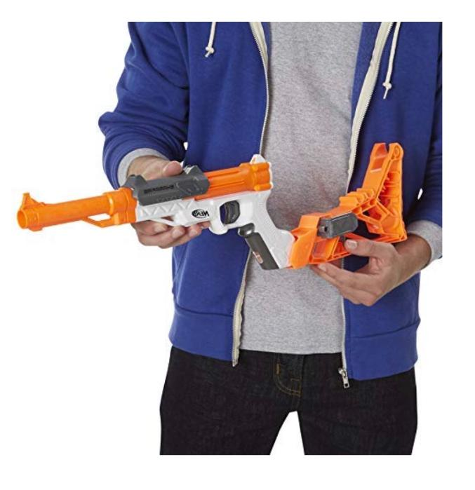 New Nerf Gun N Strike Blaster 10 Hand Cannon