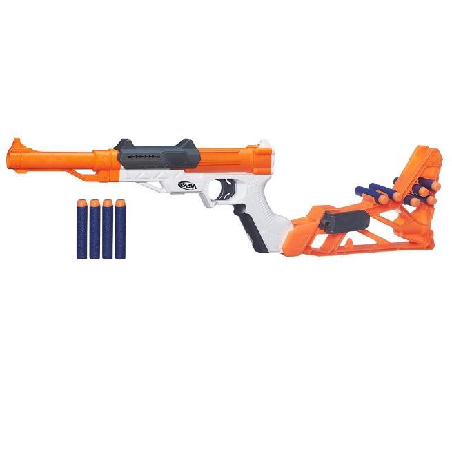 new gun n strike sharpfire blaster includes