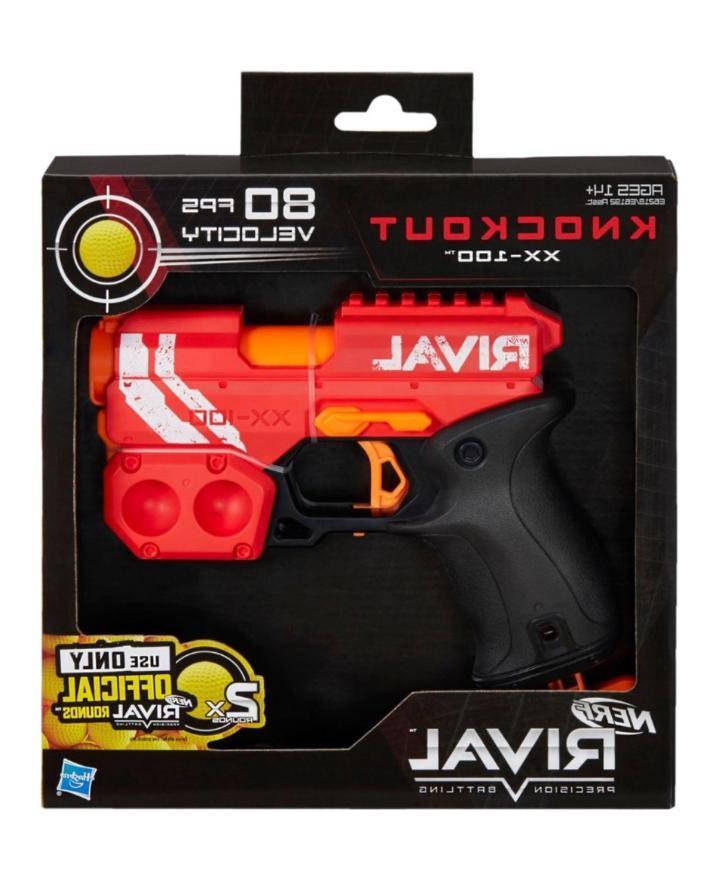 New Gun Rival Knockout Blaster Red Blue Guns