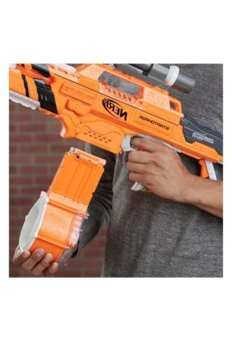 New Alphahawk Accustrike Series Blaster Gift Gun Kid's Dart