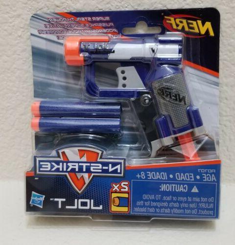 new n strike jolt blaster toy gun