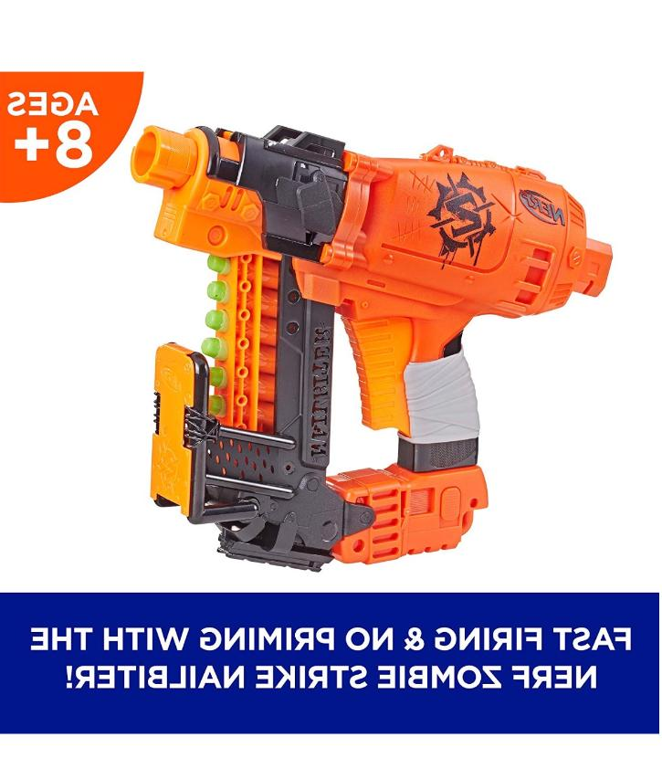 New Nailbiter Gun Boy's Girl's Nerf Gun 8 Darts