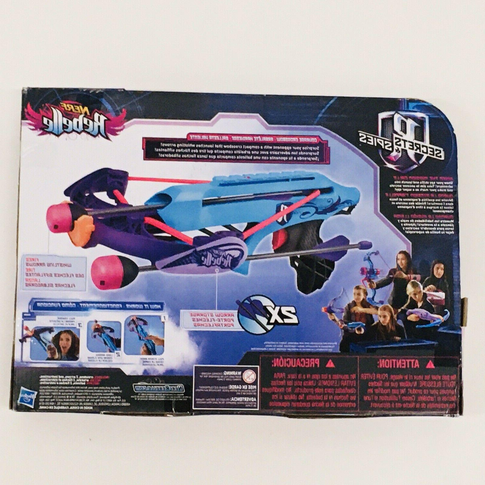 NEW NERF B1694 Courage Blaster Whistling Arrows