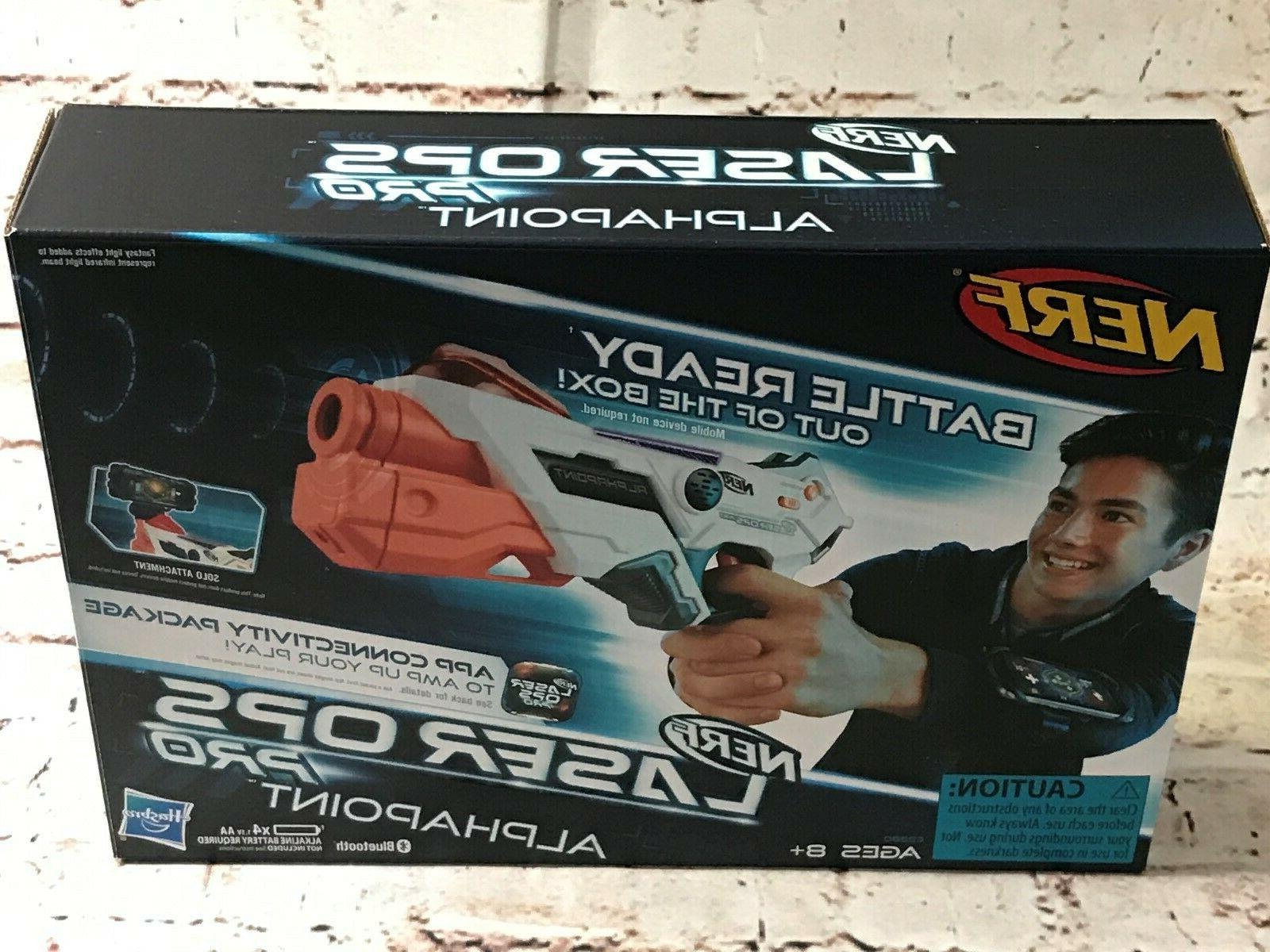 New GUN OPS Alphapoint Ready Bluetooth App Connect Hasbro