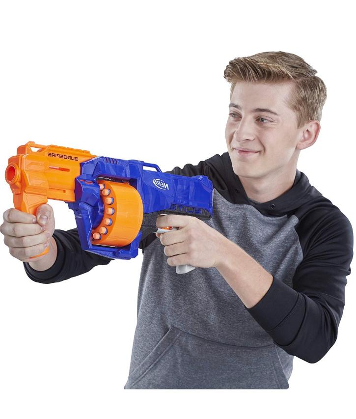 New Nerf Gun Strike Blaster Guns for Includes Darts