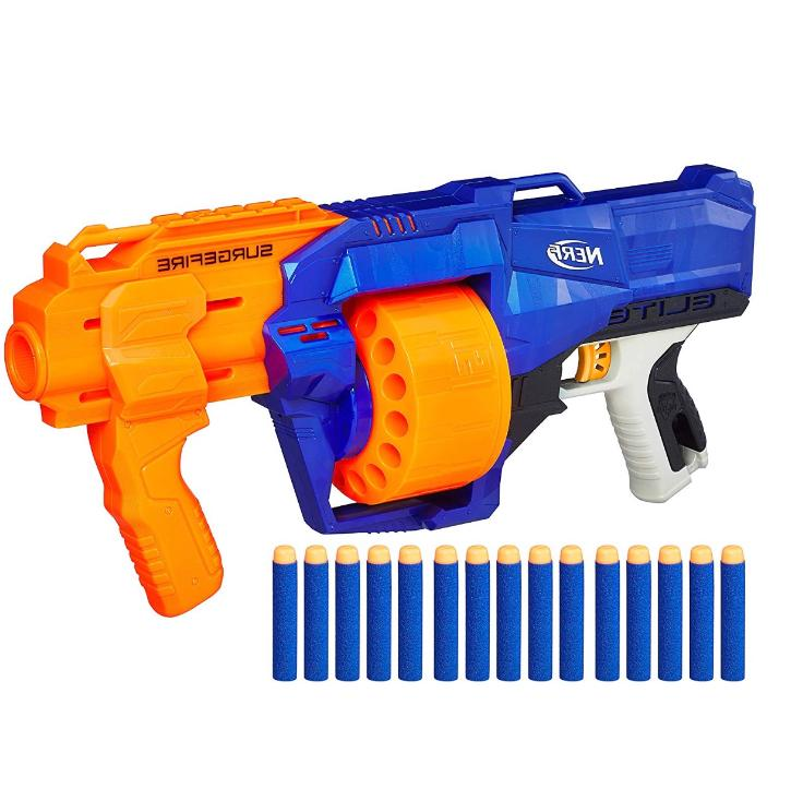 new nerf gun n strike blaster surgefire