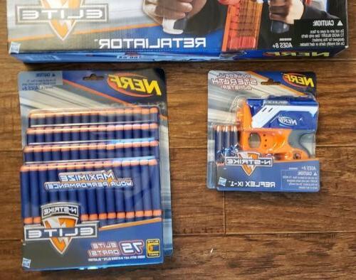 New! Retaliator Gun Darts- Reflex