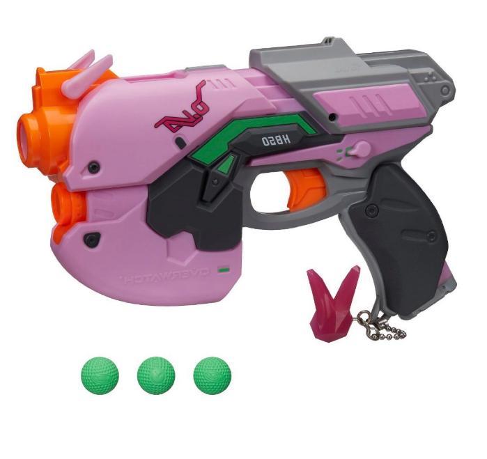 New Nerf D.Va Blaster Girl's Toy Handgun