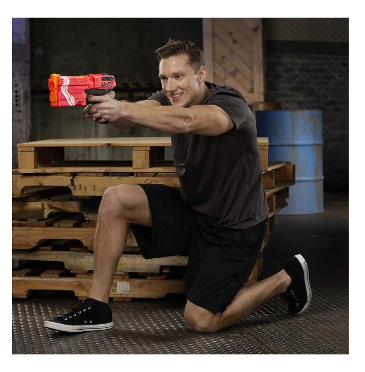 New Nerf for Boys Kronos Toy Cannon