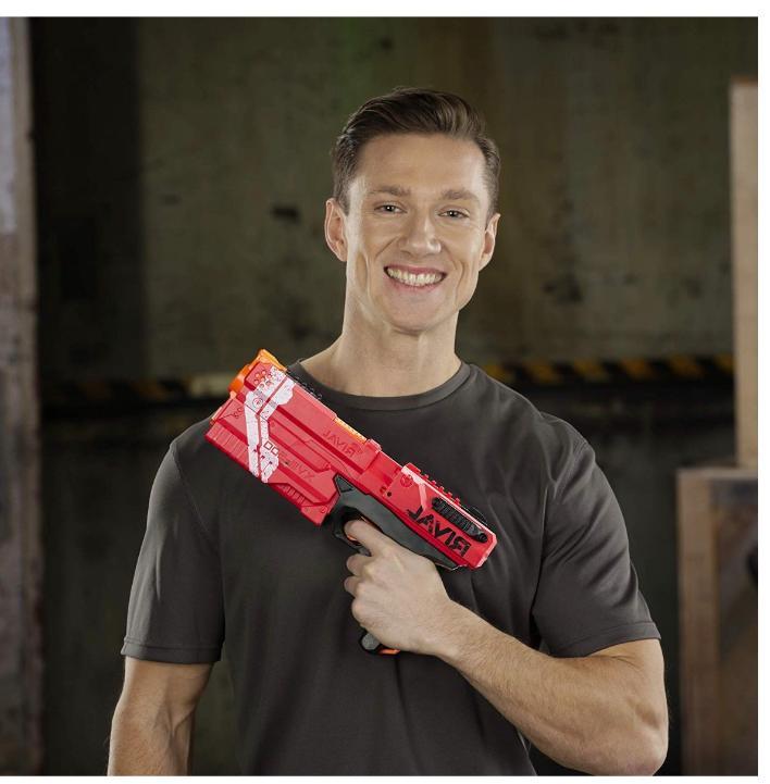 new red guns for boys girls rival