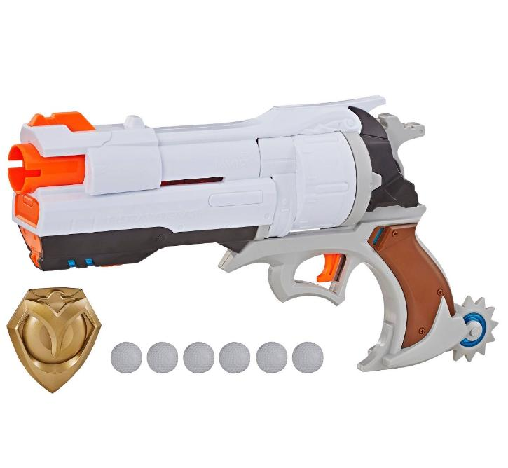 New Overwatch Blaster Cannon 6 Toy