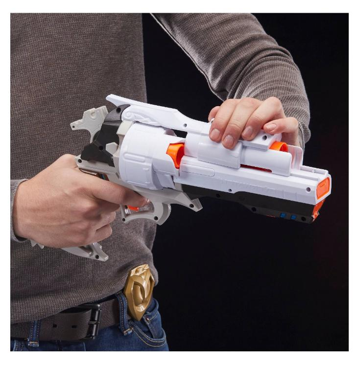 New Rival Gun Overwatch Blaster Cannon 6 Rounds Toy Guns