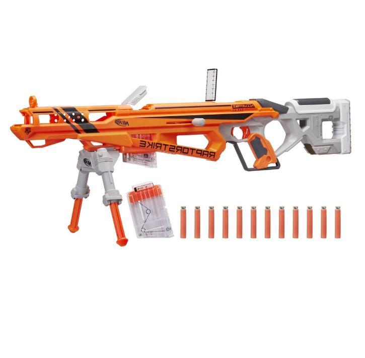 New Nerf Sniper Rifle Accustrike Toy Guns Gift