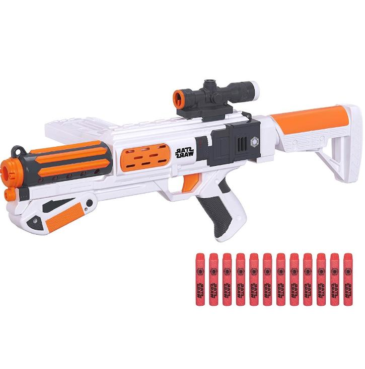 new star wars gun stormtrooper blaster episode