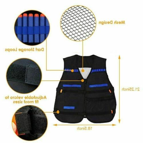 NEW Tactical Suit Jacket Kit Guns Elite Accessory