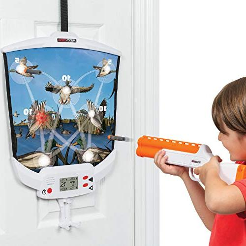 Rec-Tek Over The Duck Hunting Game Kids - Assembly and Easily Height - Complete with all Accessories