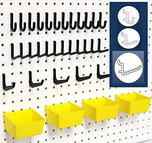 peg board storage system