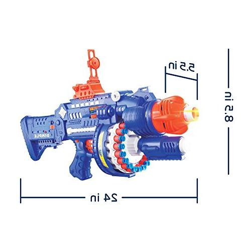 """Blaster"""" by Dimple, 40 Rotating up to 40 Feet!"""