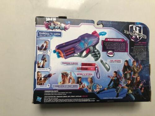 Nerf Blaster Secrets & Spies Double Decoder New