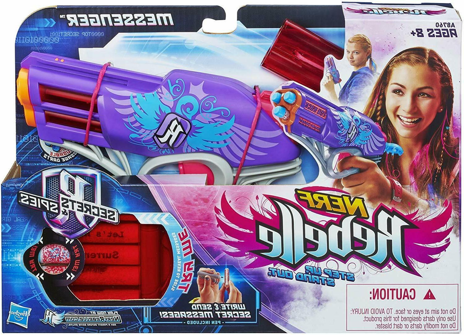 rebelle messenger blaster outdoor play toy new