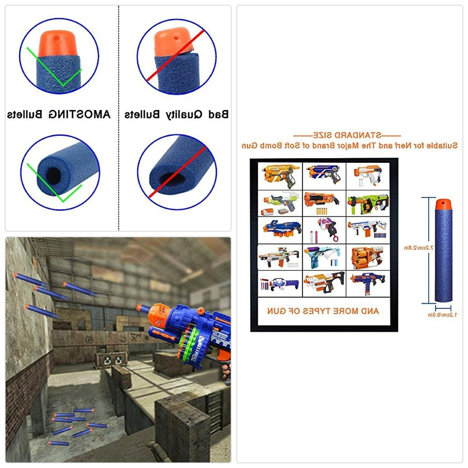 Refill Darts Bulk Bullets Pack Nerf Elite
