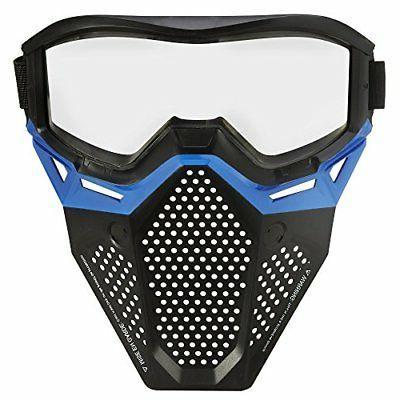 rival face mask blue dart guns soft
