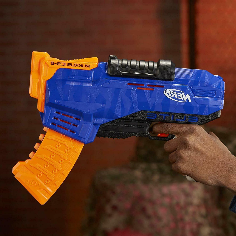 Nerf ICS-8 Guns For Boys N Strike Elite Nerf Guns For
