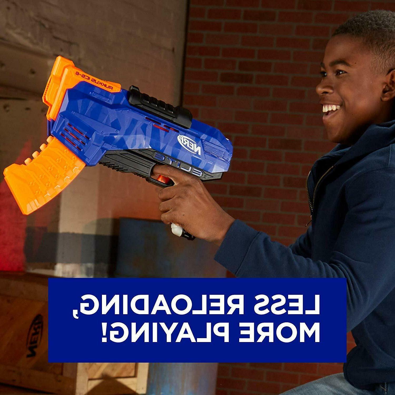Nerf Rukkus ICS-8 Guns For Boys Nerf N Nerf Guns
