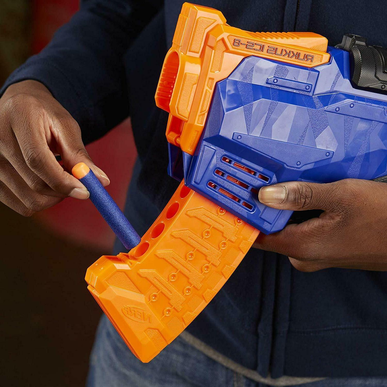 Nerf Rukkus ICS-8 Guns N Strike Gun Nerf Girls