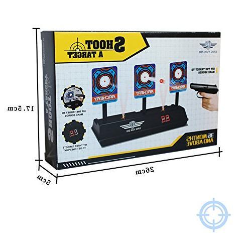 Aoile Bullet Target Toy, Target for Toys Bullets Blaster