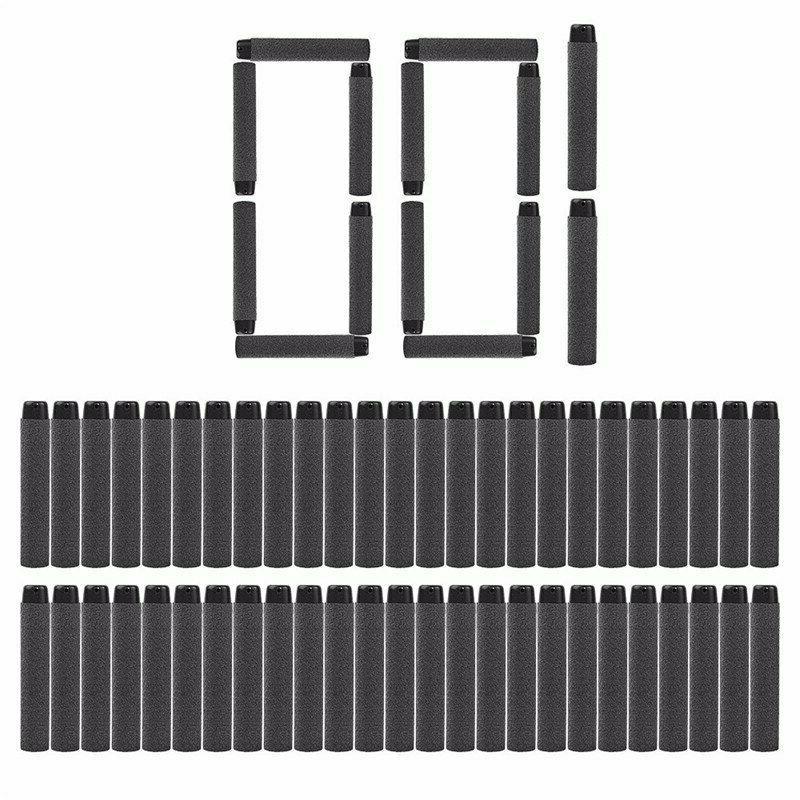 Nerf Darts Round Air Hole Foam 7.2cm Blasters 100Pcs