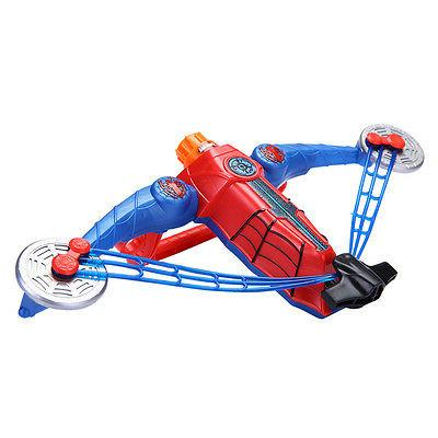 Spiderman AVENGERS Bow Crossbow Darts Soft Foam for