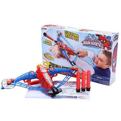 spiderman avengers gun bow and arrow crossbow